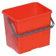 Professional bucket red 6 liters