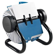 Open rotary file Rolodex 500 cards - 56 x 102 mm
