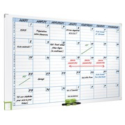 Magnetic monthly planner 7 columns Nobo