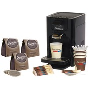 Kit Senseo Quadrante coffee machine + complete Senseo kit