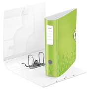 Lever arch file plastic Leitz Active 180° Wow back 7,5 cm anise green