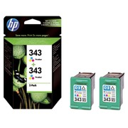 Duopack HP 343 CB332EE 3 colors