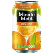 Pak 24 blikjes 33cl Minute Maid orange