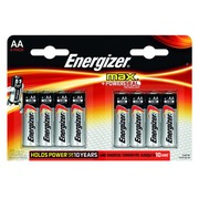 Blister of 8 alcaline batteries Energizer Max LR6 AA