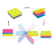 Repositionable cube block Easy Select Post-it® 76 x 76 mm - block of 300 notes