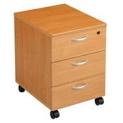Mobile cabinet 3 drawers Start Plus alder