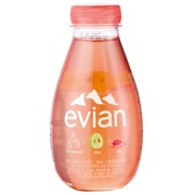 Evian water fruits and plants grape/rose bottle of 37 cl - pack of 12