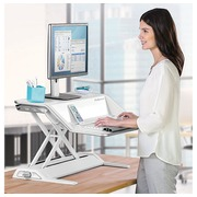 Standing workstation LOTUS for desk