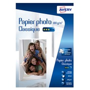 Avery Photo Paper 10 x 15 cm 180 g - 80 Sheets