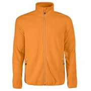 Printer Rocket Fleece Jacket Bright Oranje 4XL