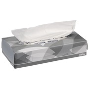 Box of 100 white handkerchiefs Kleenex