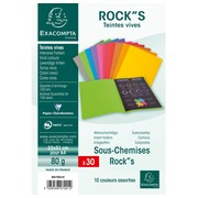 Pack of 30 insert folders ROCK