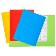 Pre-printed 2 flap folder Forever® 290gsm - 24x32cm - Assorted colours (445000E)