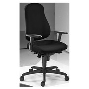 June Office Chair with Adjustable 3D Armrests Black