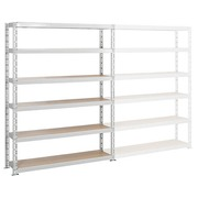 Archive rack Archiv' Eco 2 - basis element H 192.5 x W 150 x D 35 cm galvanized steel plate single access