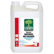 Cleaning product for toilet facilities anti-scale L'Arbre Vert - can of 5 L