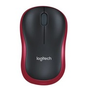 Logitech M185 - mouse - 2.4 GHz - red