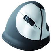R-Go HE Mouse, Ergonomic mouse, Medium (165-195mm), Right Handed, wireless