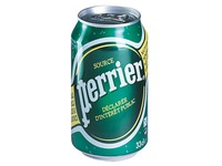 Pack of 24 cans sparkling water Perrier 33 cl