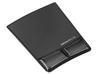 Antibacterial and ergonomic mousepad black