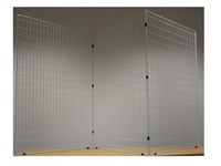 Set of 3 self-supporting grids, white
