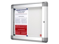 JMB Inside window panel, aluminium, 2 pages, grey metal panel