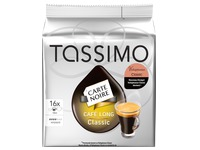 Box of 16 capsules Tassimo Voluptuoso Carte Noire