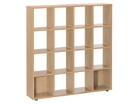 Bookcase 16 compartments Eden