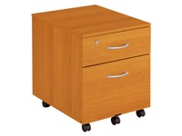 Cubo, mobile cabinet, 2 drawers