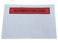 Zelfklevend documentenmapje ft A6, documents enclosed, doos van 1000 stuks