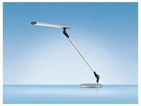 Hansa bureaulamp Delight, LED-lamp, aluminium