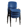 Conference chair black structure
