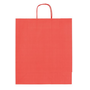Shopping bags kraft colour red 40 x 35 x 14 cm - Box of 50